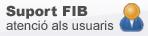 Atenció als usuaris de la FIB