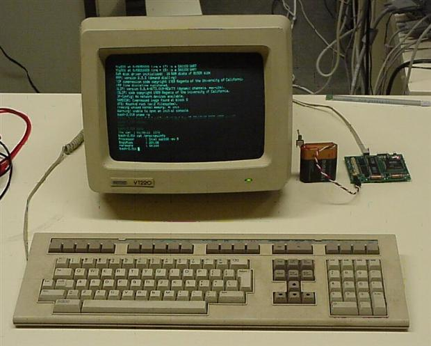 Terminal Digital Vt220