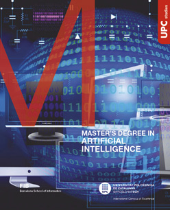 Master in Artificial Intelligence flyer