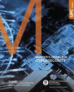 Master in Cybersecurity flyer