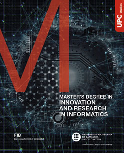 Master in Innovation and Research in Informatics flyer image