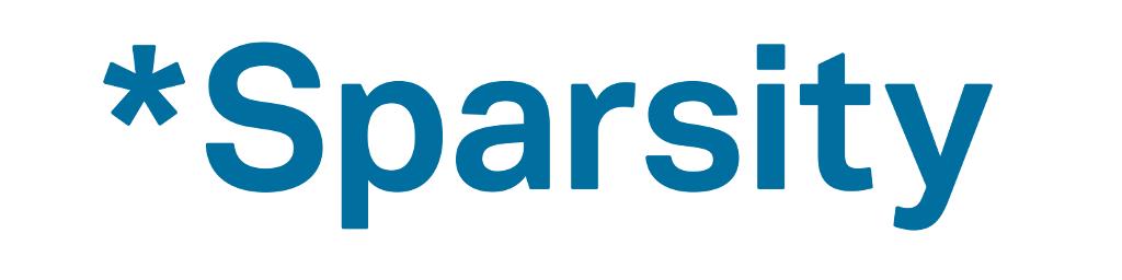 Logo Sparsity
