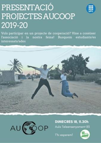 Presentació projectes AUCOOP 2019-20