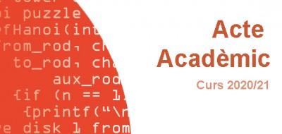 acte academic 2020