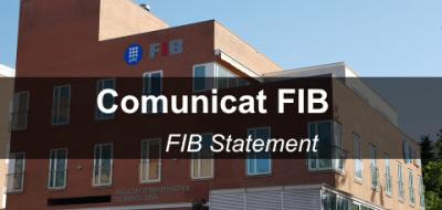 comunicat FIB