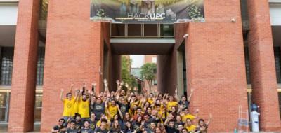 Foto de l'equip HackUPC